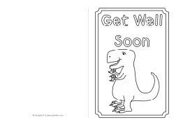 Get Well Soon Templates Get Well Card Templates Get Well Card