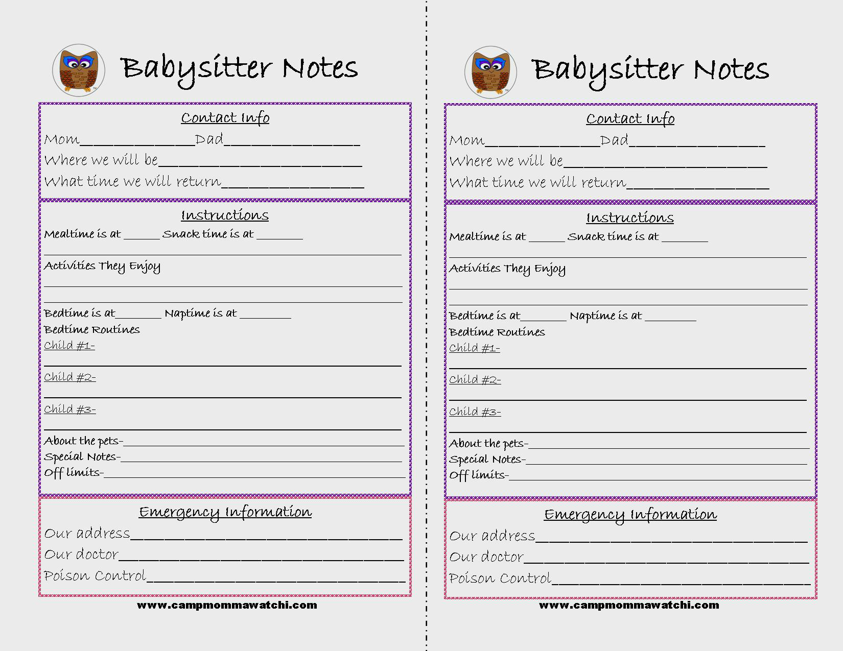 6 Best Images Of Printable Notes