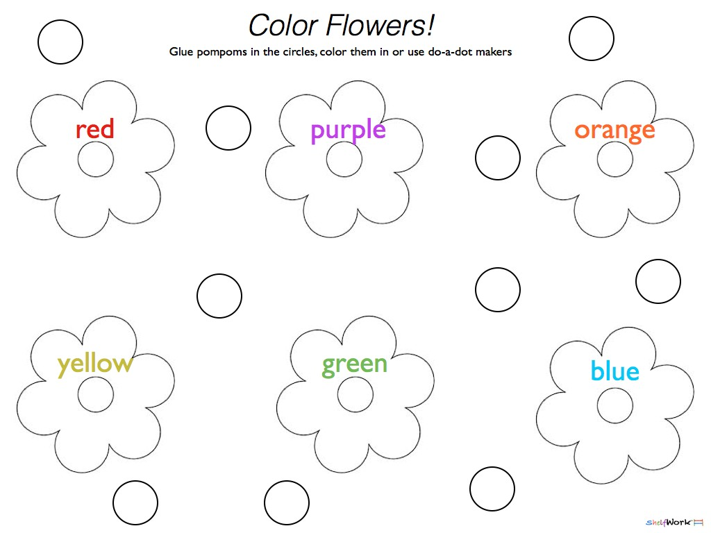 5 Best Images Of Do A Dot Art Printables Spring