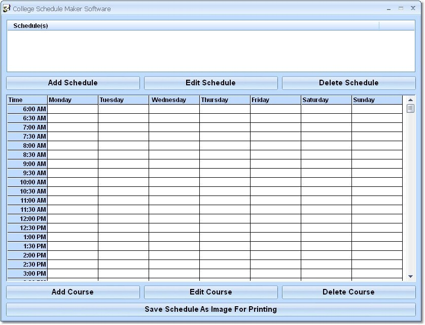 Image Result For Easy Employee Schedule Maker