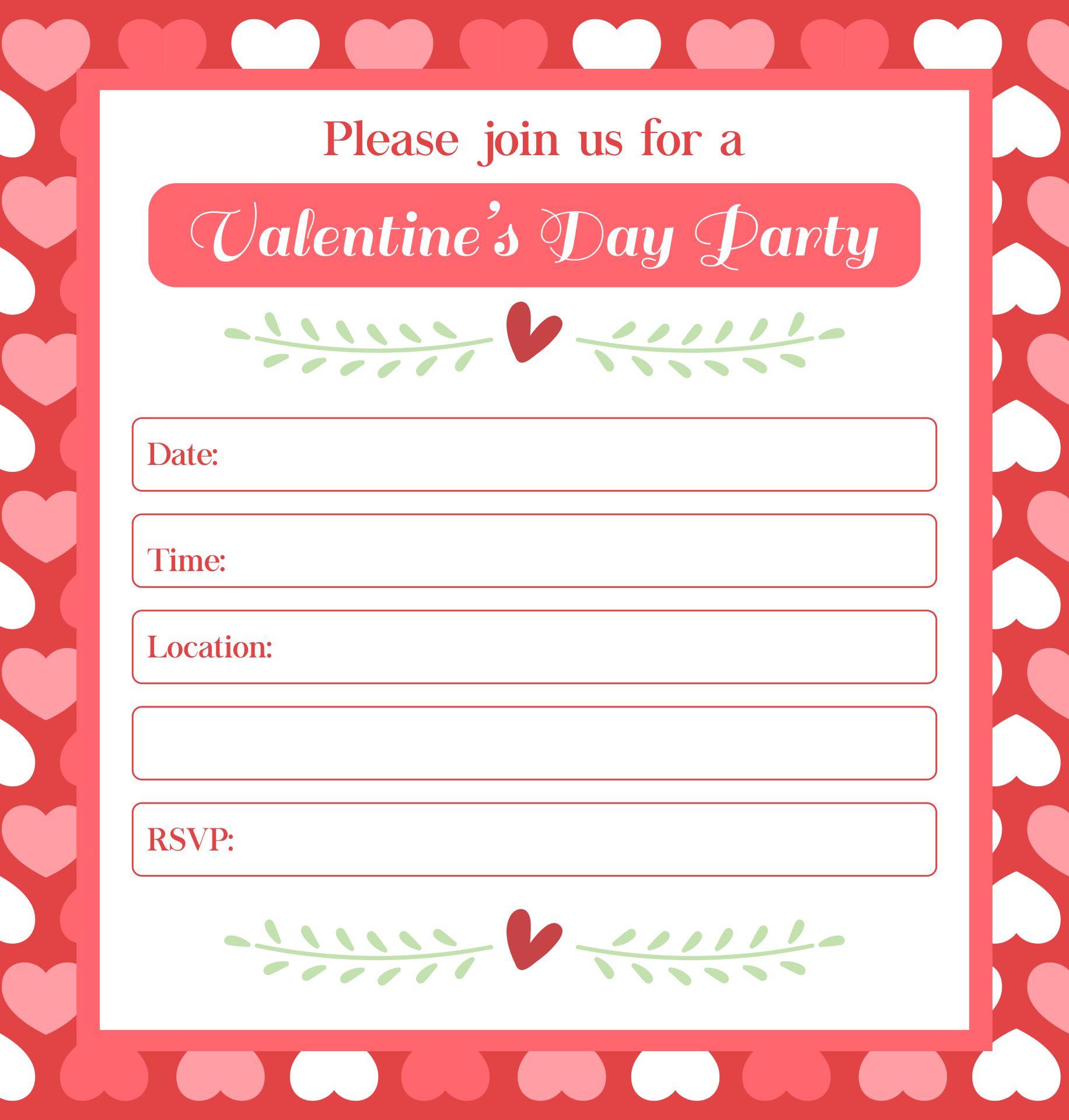 Valentine Printable Templates Free Stationery