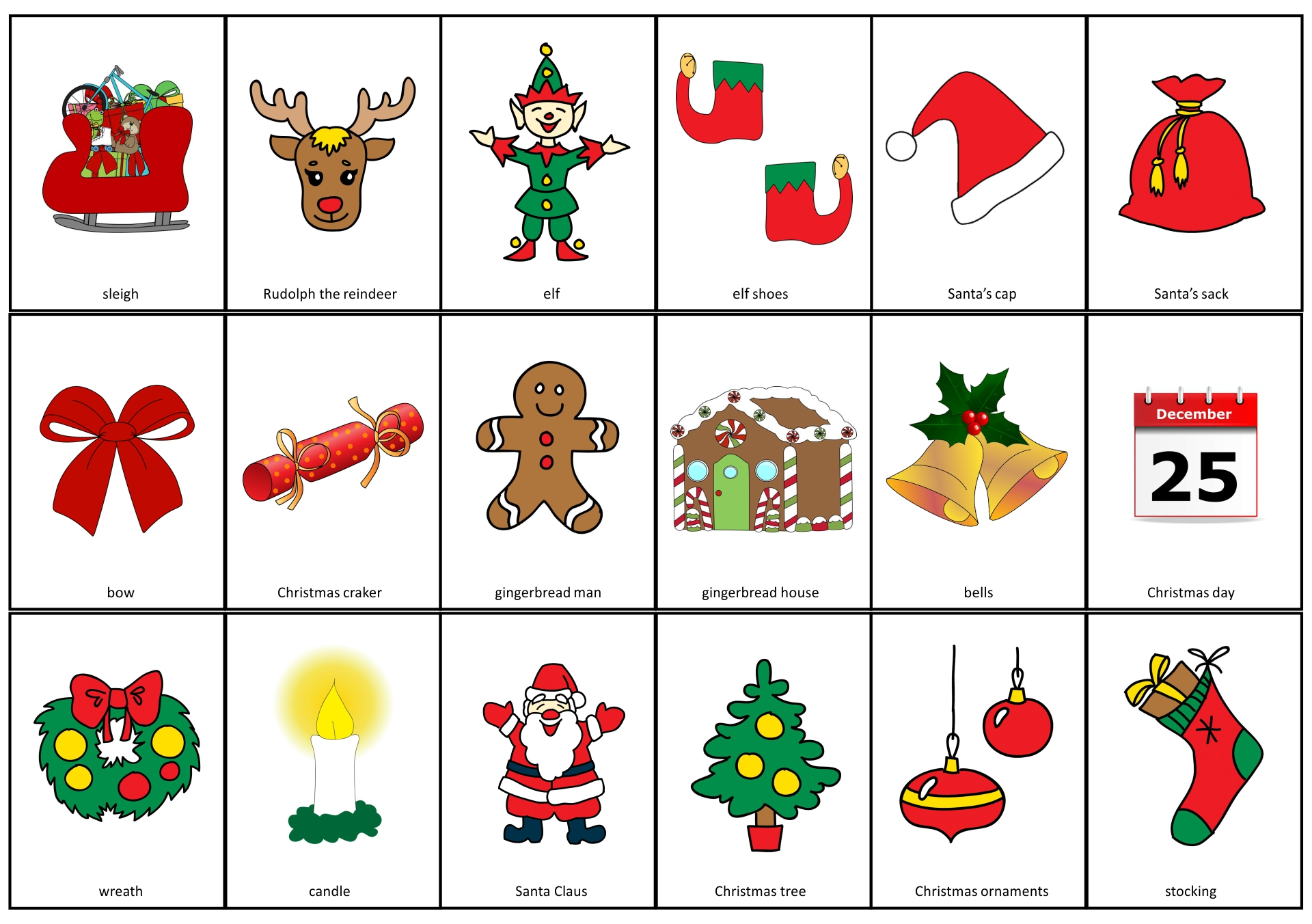 7 Best Images Of Spanish Christmas Activities Printables