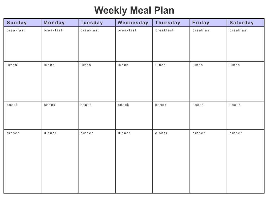 Printable Calorie Diabetic Meal Plan Pictures To Pin