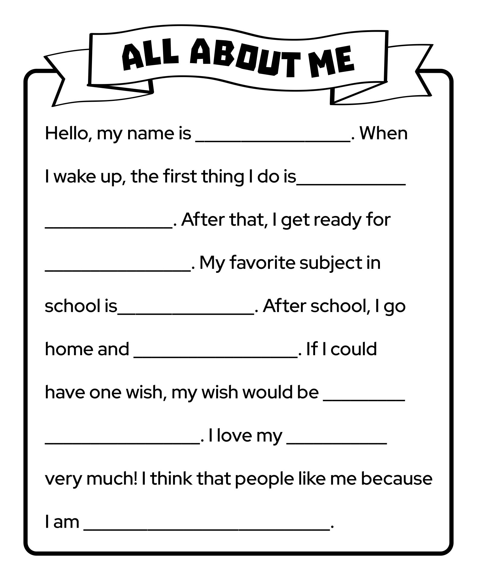 Ged Worksheet Printable