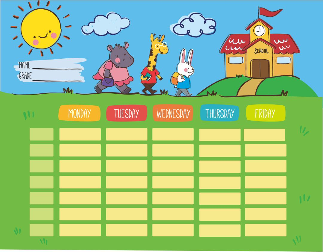 8 Best Free Printable Preschool Calendars