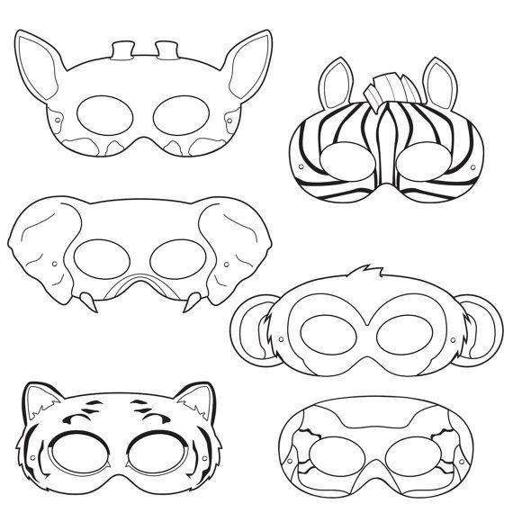Zebra Mask Template  zebra mask template zebra mask view