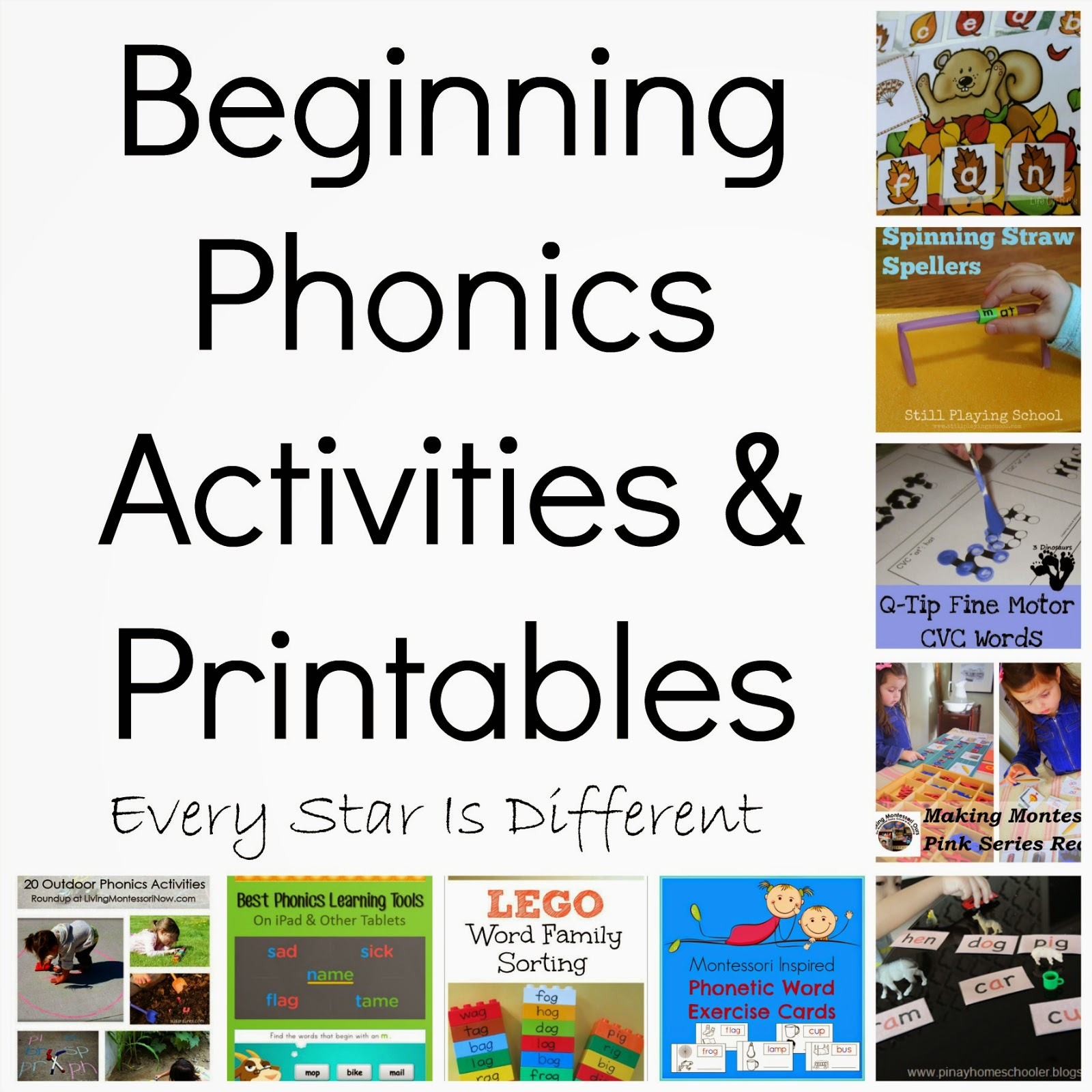 8 Best Beginning Letter Sound Activities Printable