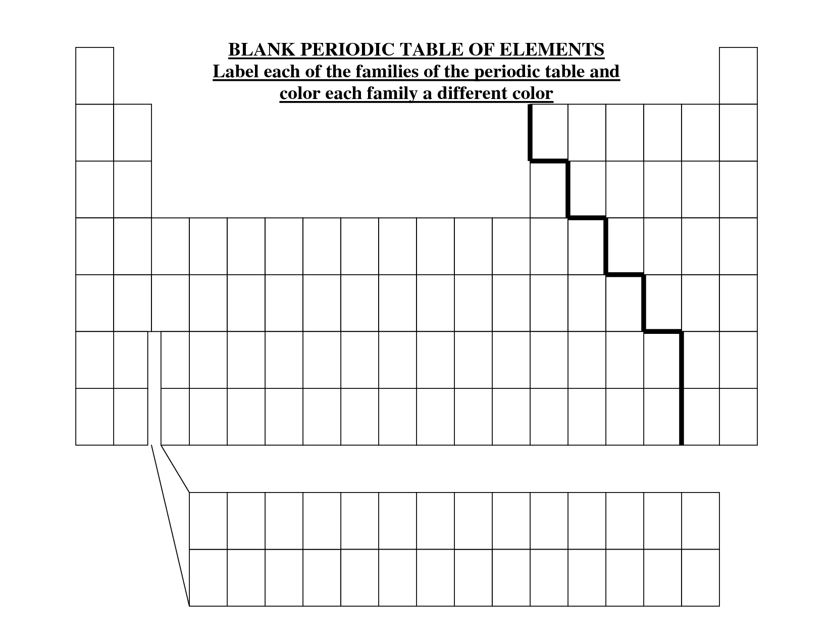 picture about Blank Periodic Table Printable called Blank Periodic Desk Template. phrase desk template yahoo