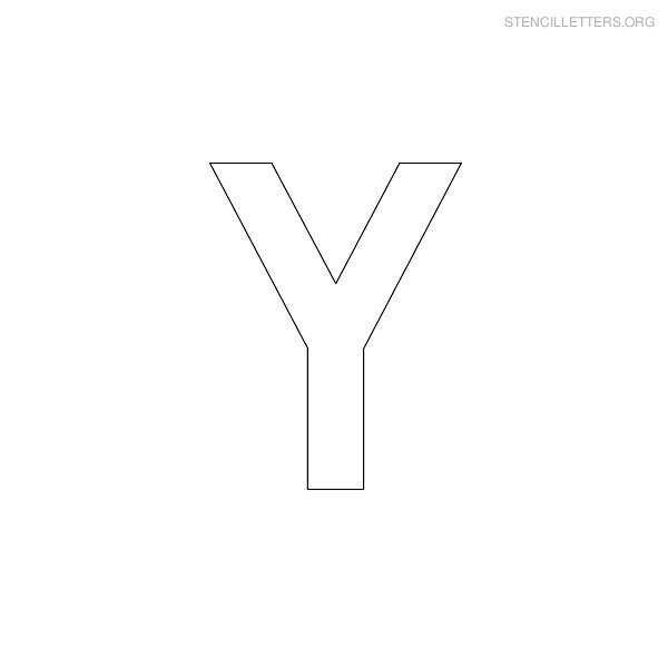 7 Best Printable Block Letters Template Y Printablee Com