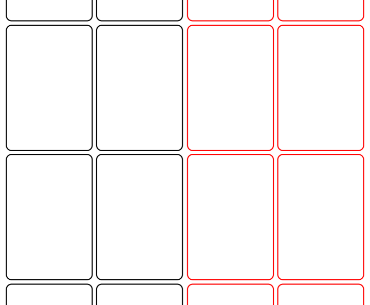 Blank Card Template Word