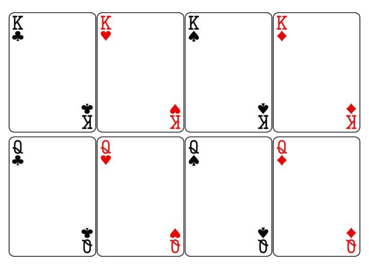 Playing Card Template #3