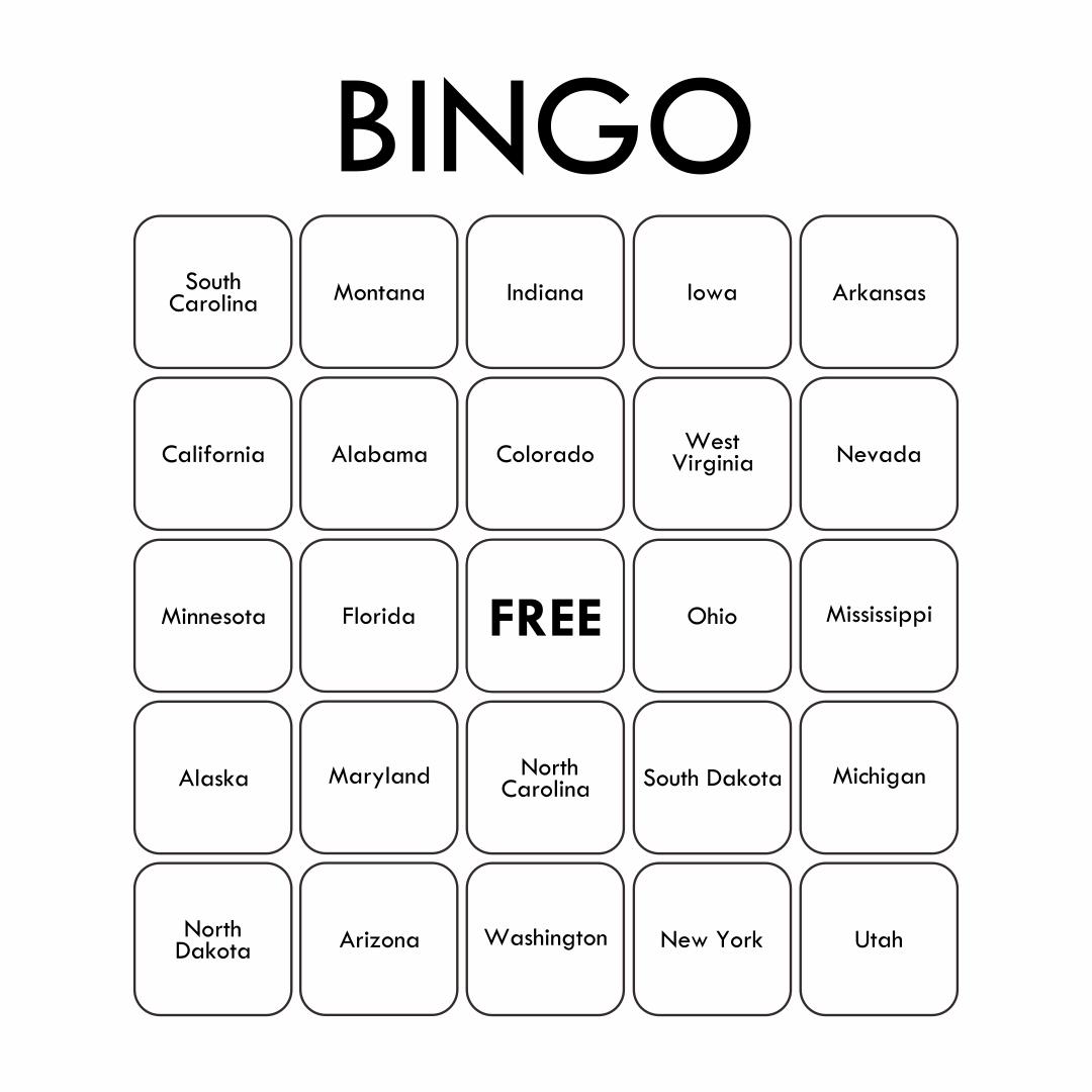 8 Best Custom Bingo Card Printable Template