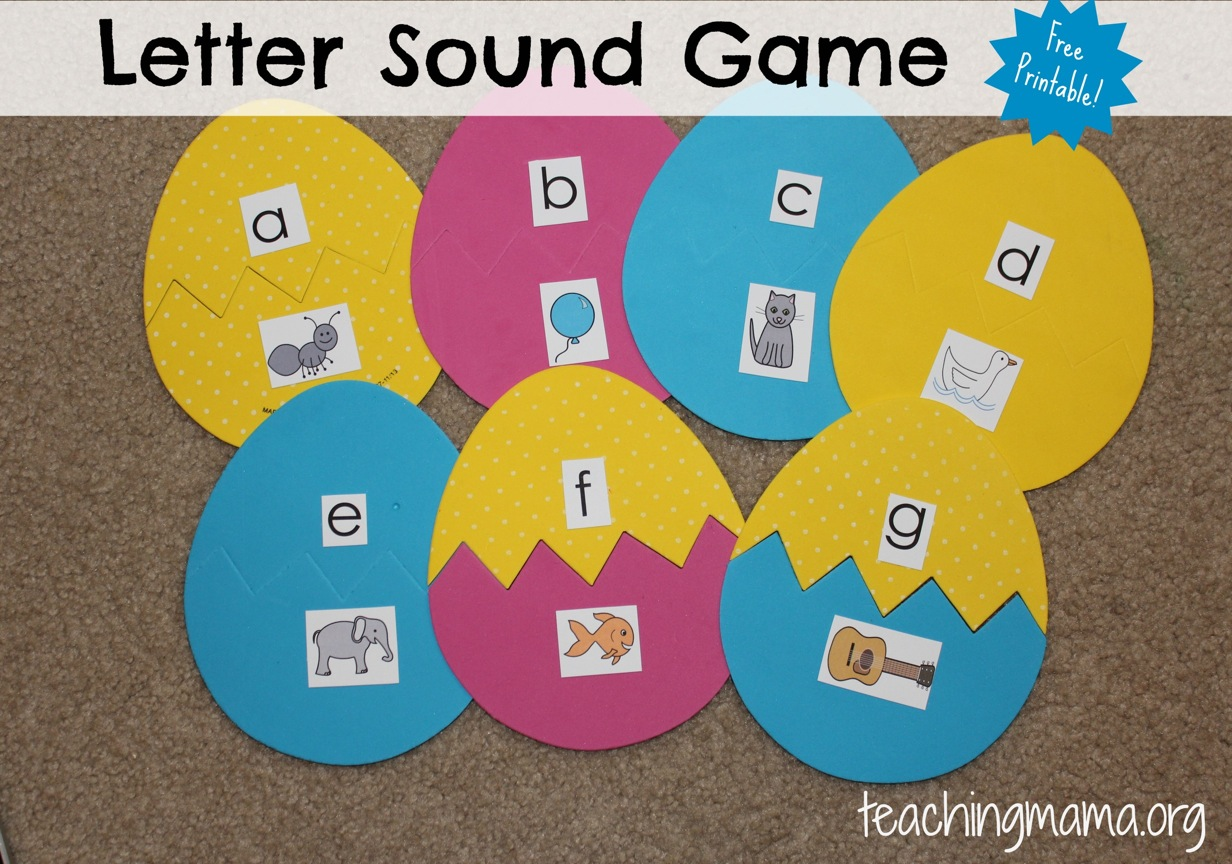 7 Best Images Of Printable Letter Sound Games