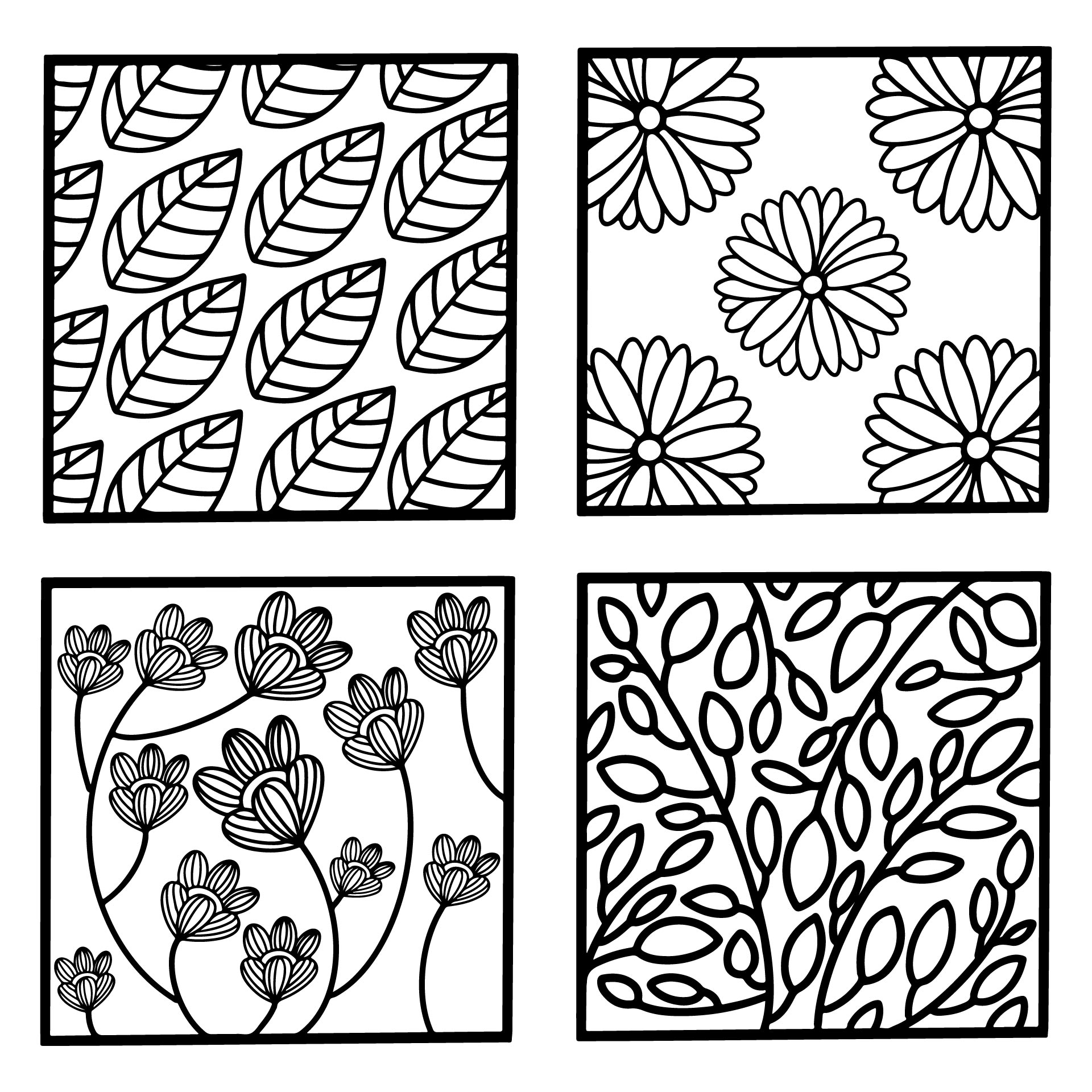 Chevron Owl Coloring Pages