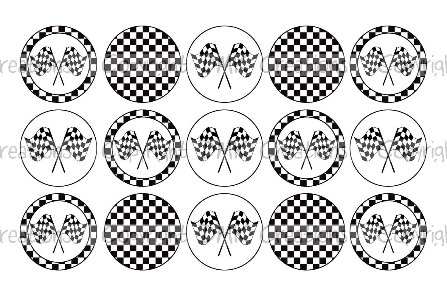 picture regarding Checkered Flag Printable named Checkerboard Template Towards Print. 9 easiest shots of black and