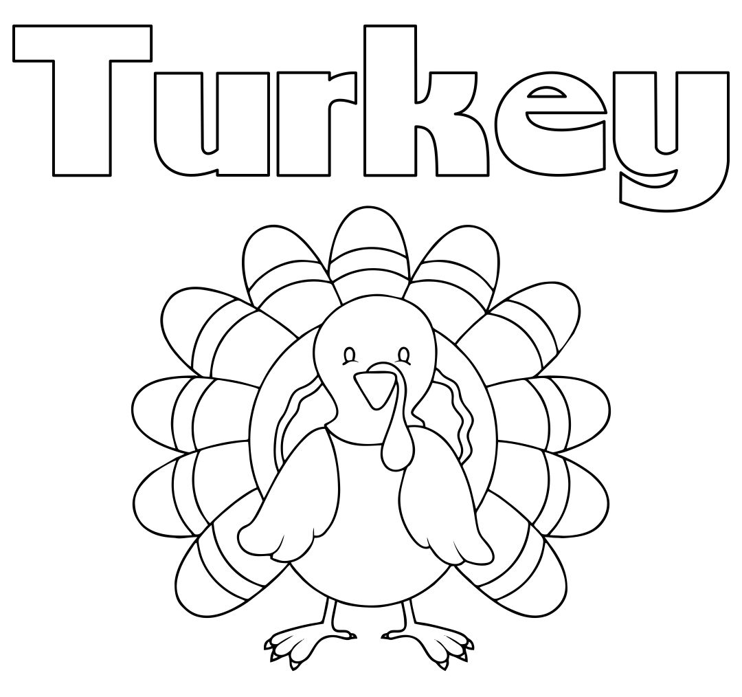 5 Best Thanksgiving Turkey Coloring Pages Printables