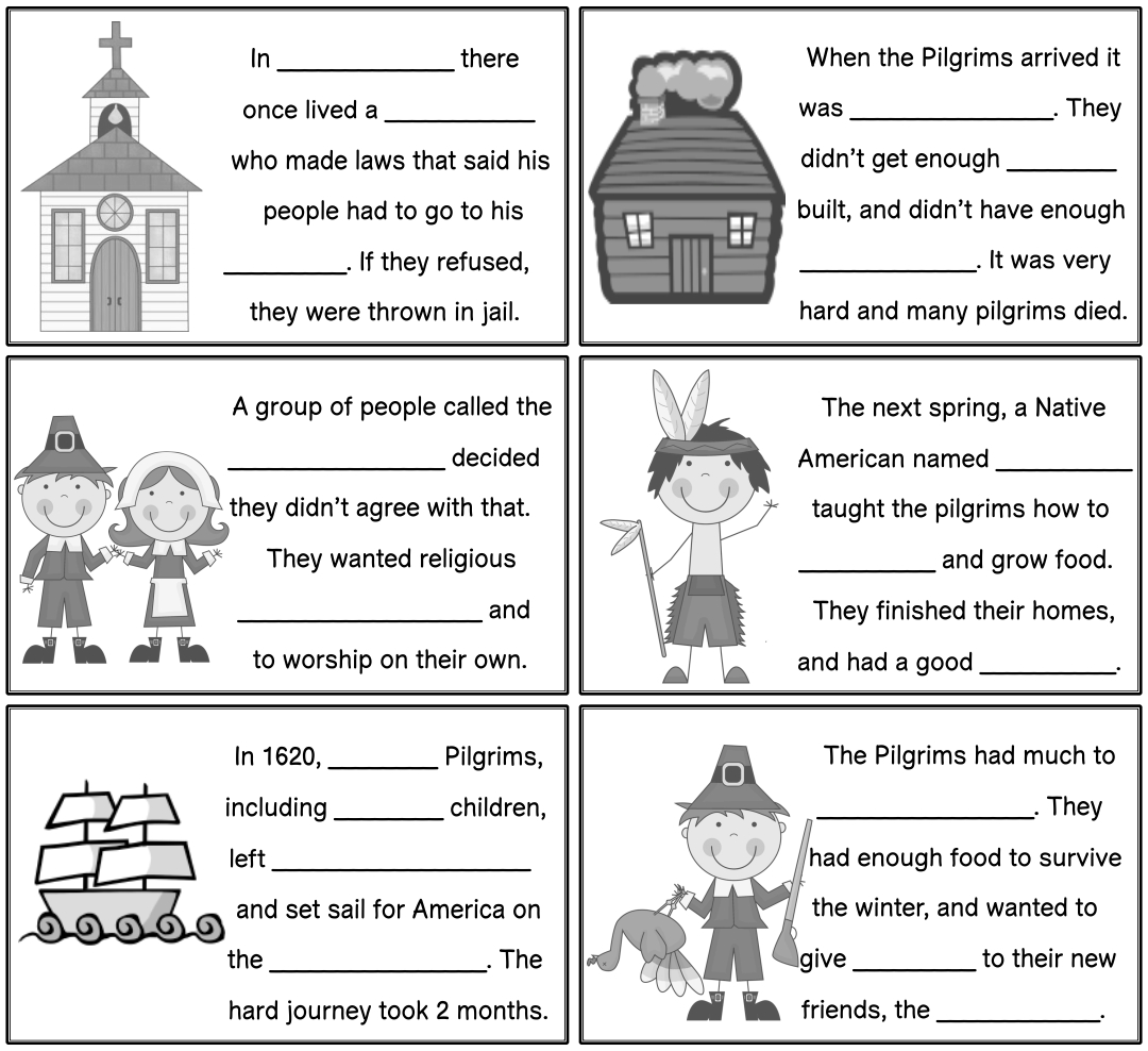 6 Best Thanksgiving Story Printable
