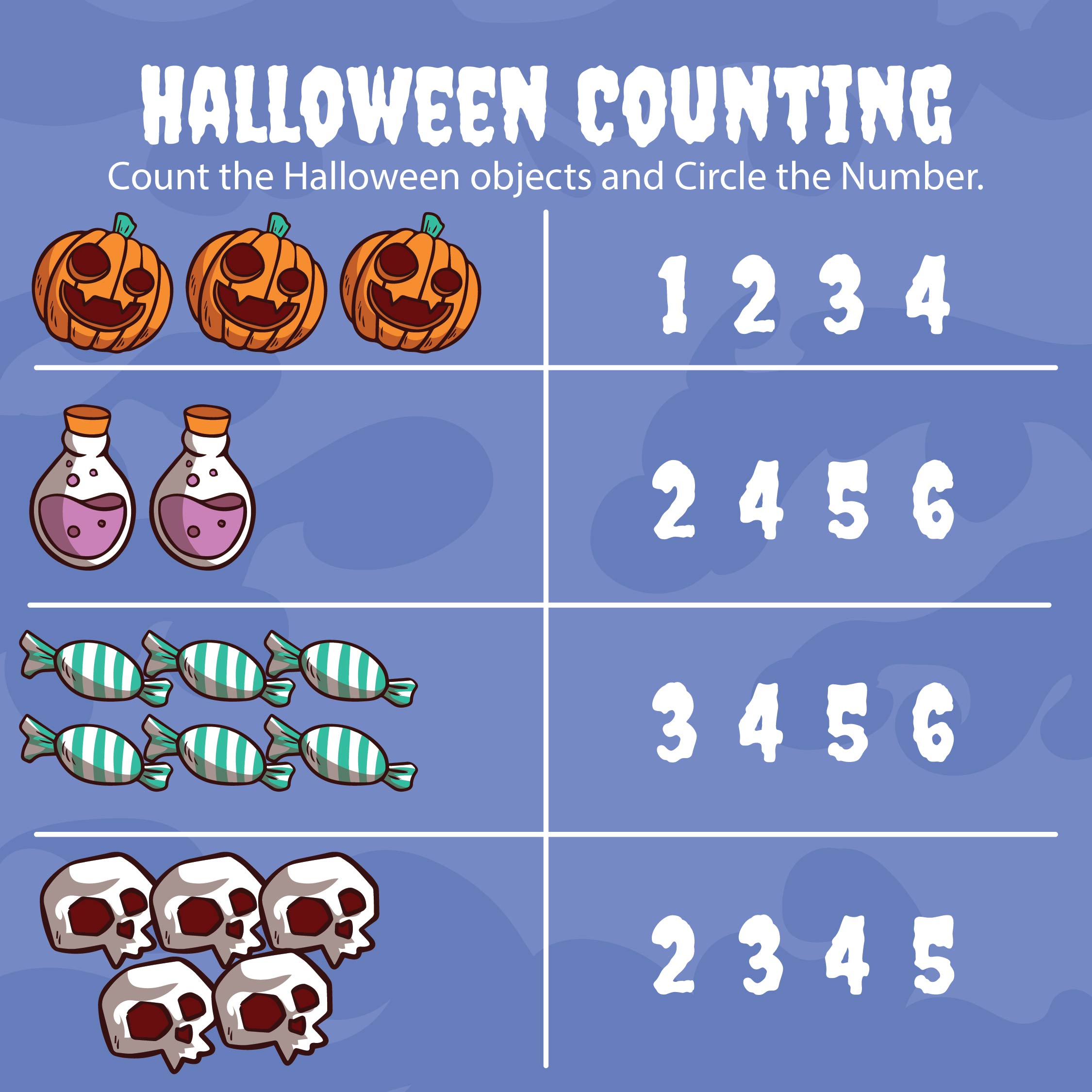 7 Best Images Of Halloween Pre K Printables