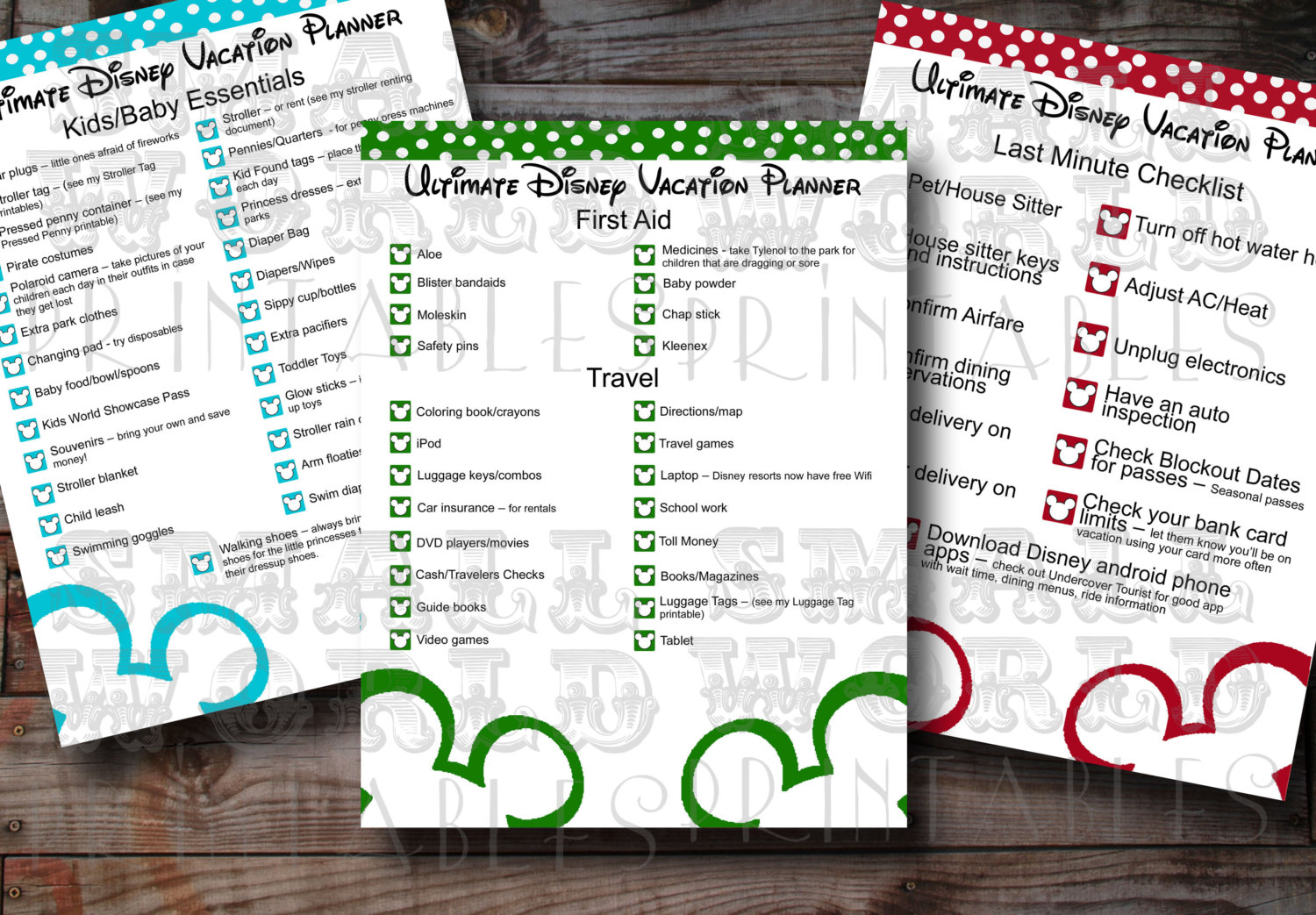 7 Best Images Of Disney Trip Templates Printables