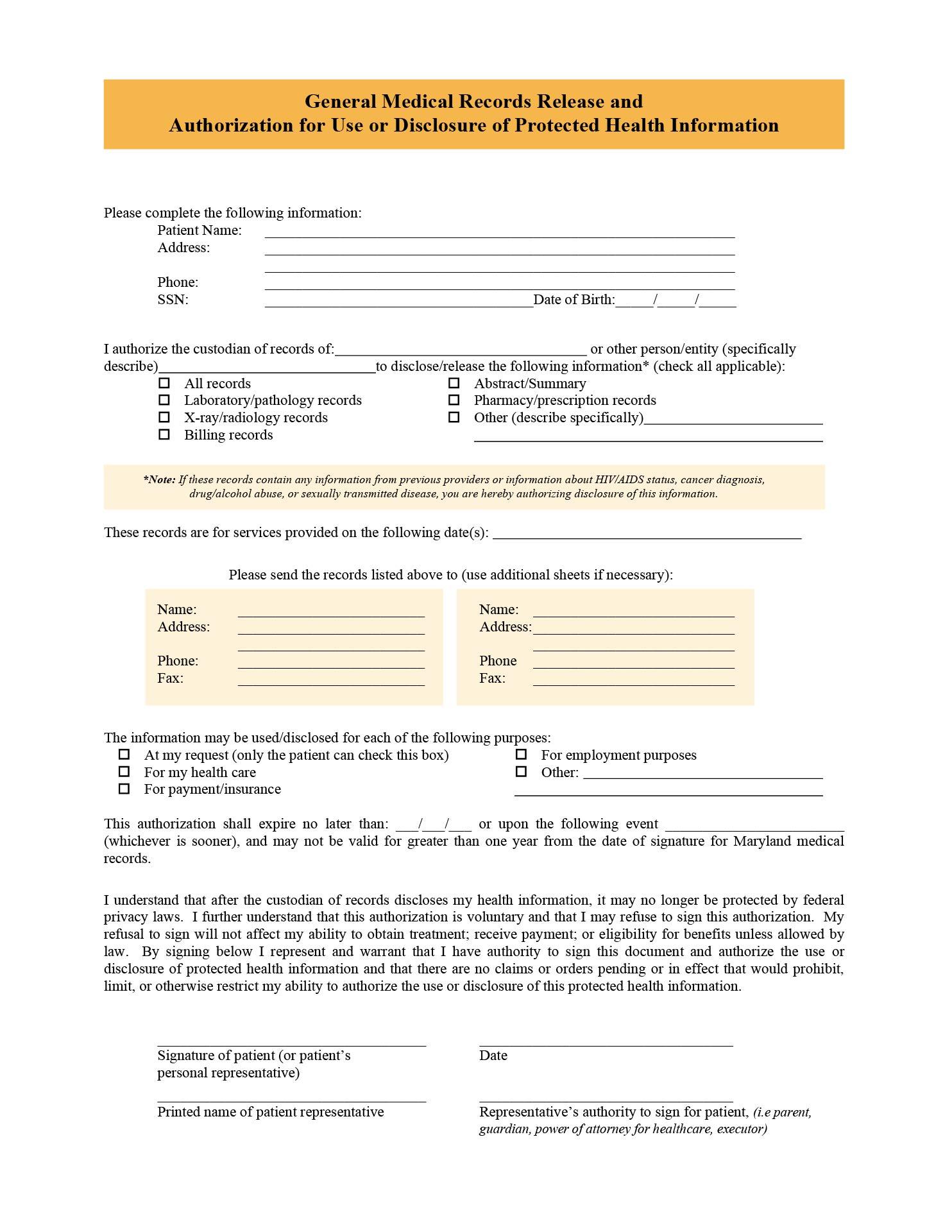 Discharge Form Template hospital discharge form template 9 best – Printable Medical Release Form for Children