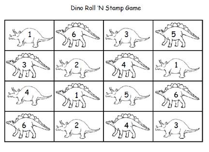 6 best images of preschool dinosaur theme printables dinosaur
