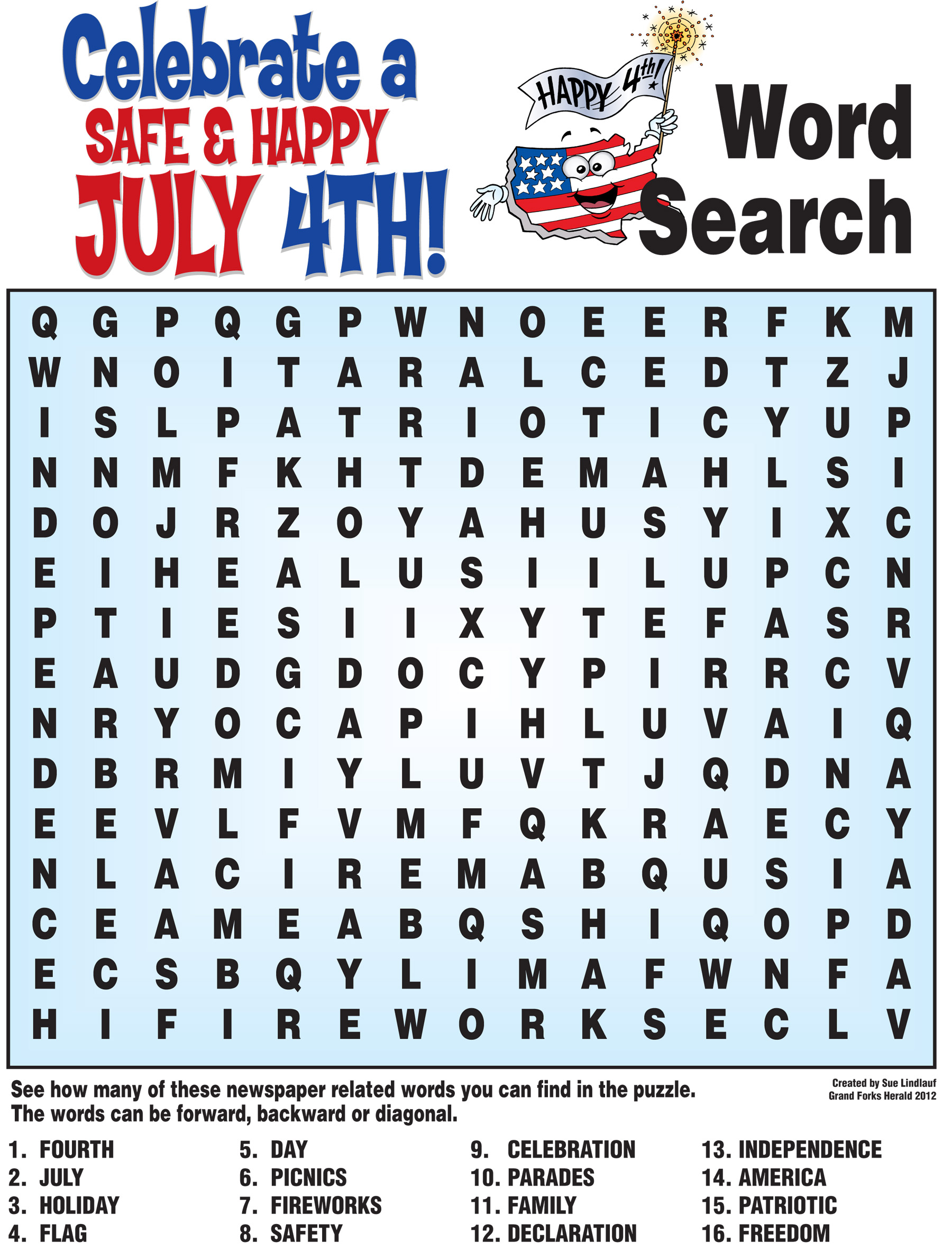 5 Best Images Of Th Printable Word Search Puzzles