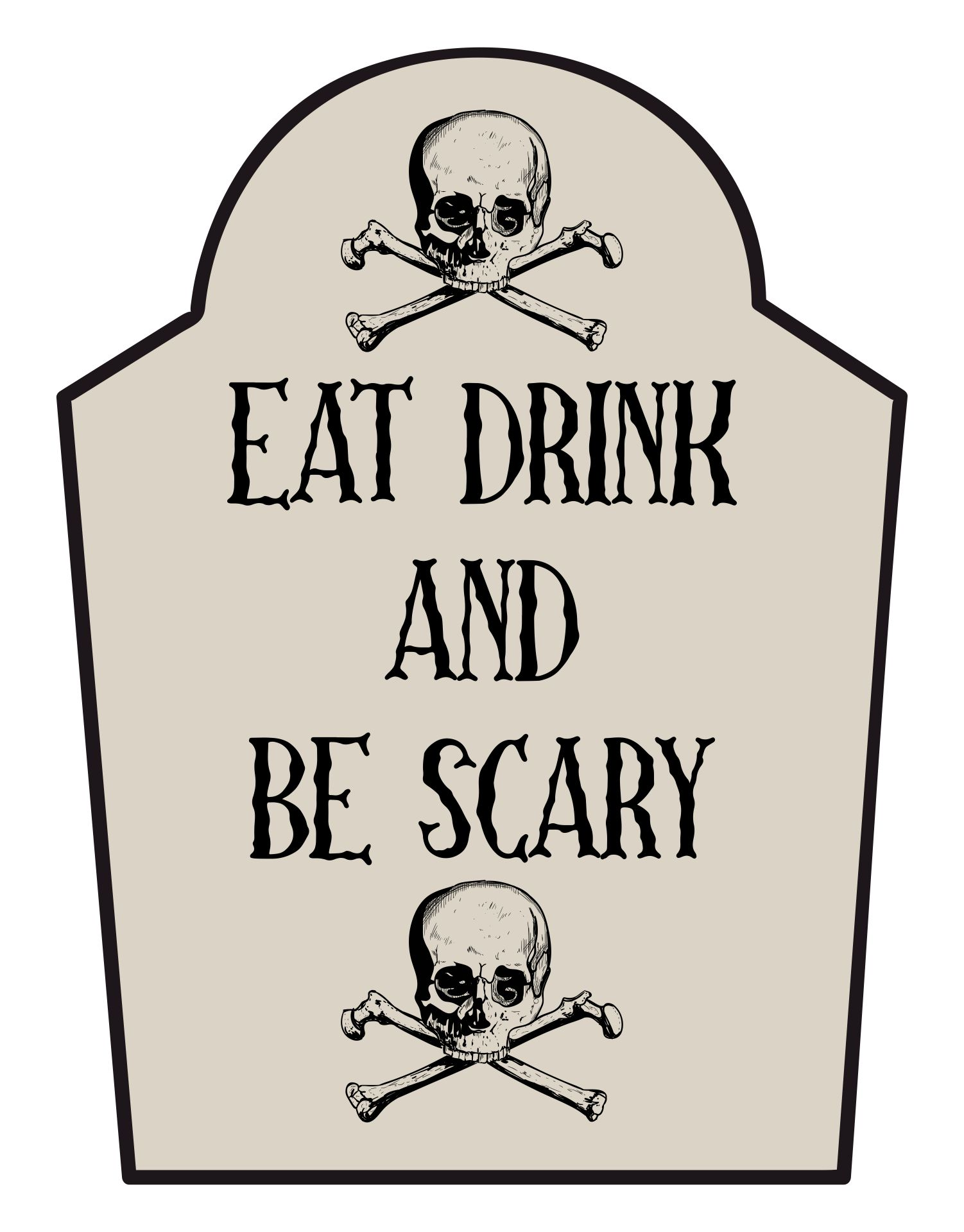 picture regarding Happy Halloween Signs Printable named Joyful Halloween Template. historical past poster or brochure for