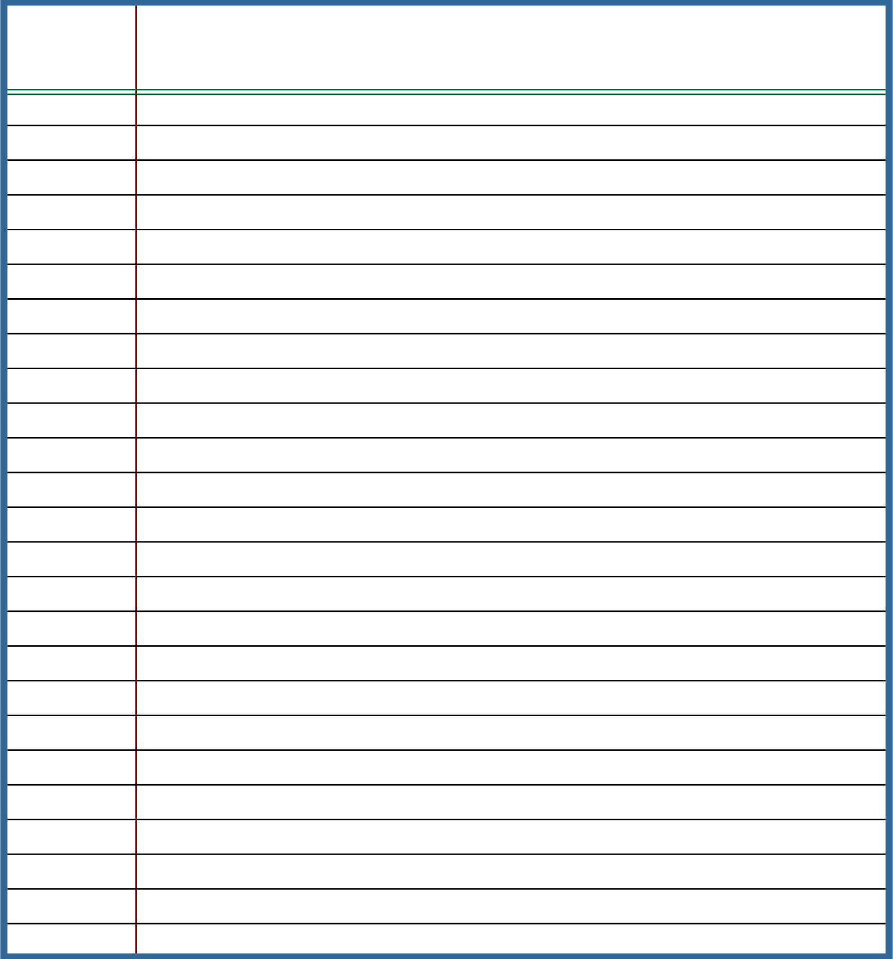 9 Best Images Of Standard Printable Lined Writing Paper