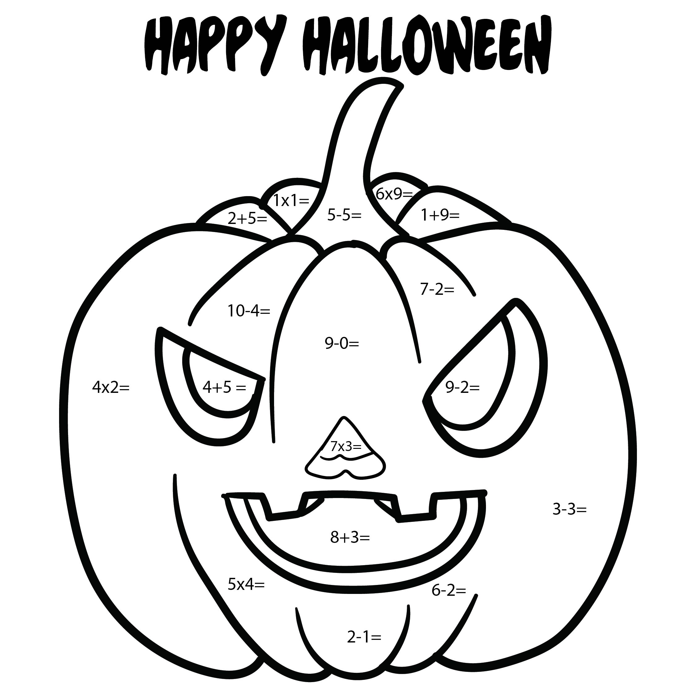 Free Worksheet Halloween Multiplication Worksheets – Halloween Maths Worksheets