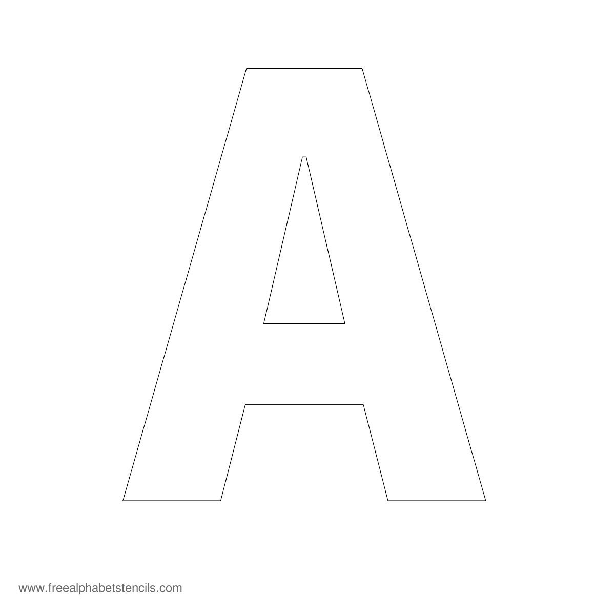 4 Best Images Of Large Printable Letters A Z
