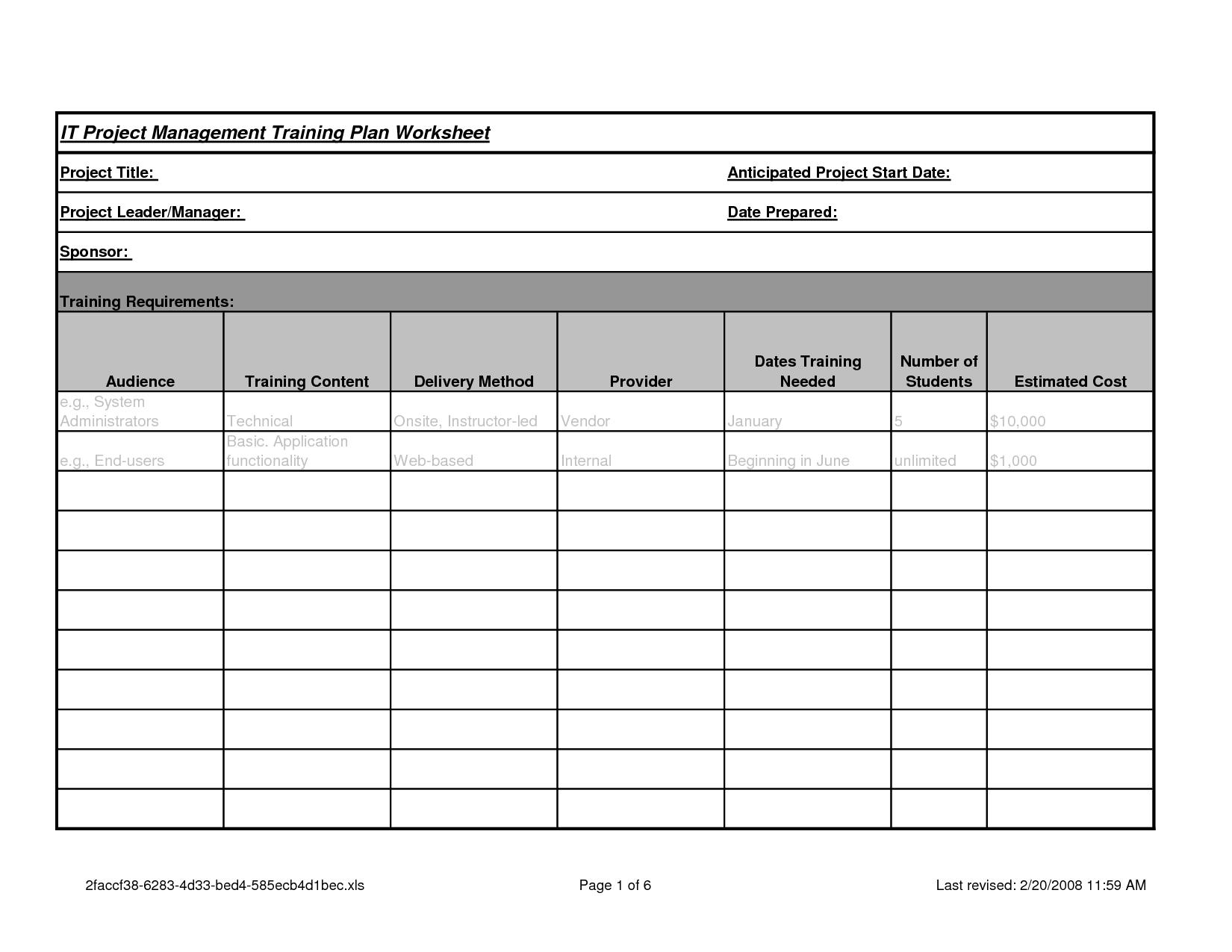 Bingo Anger Management Worksheet