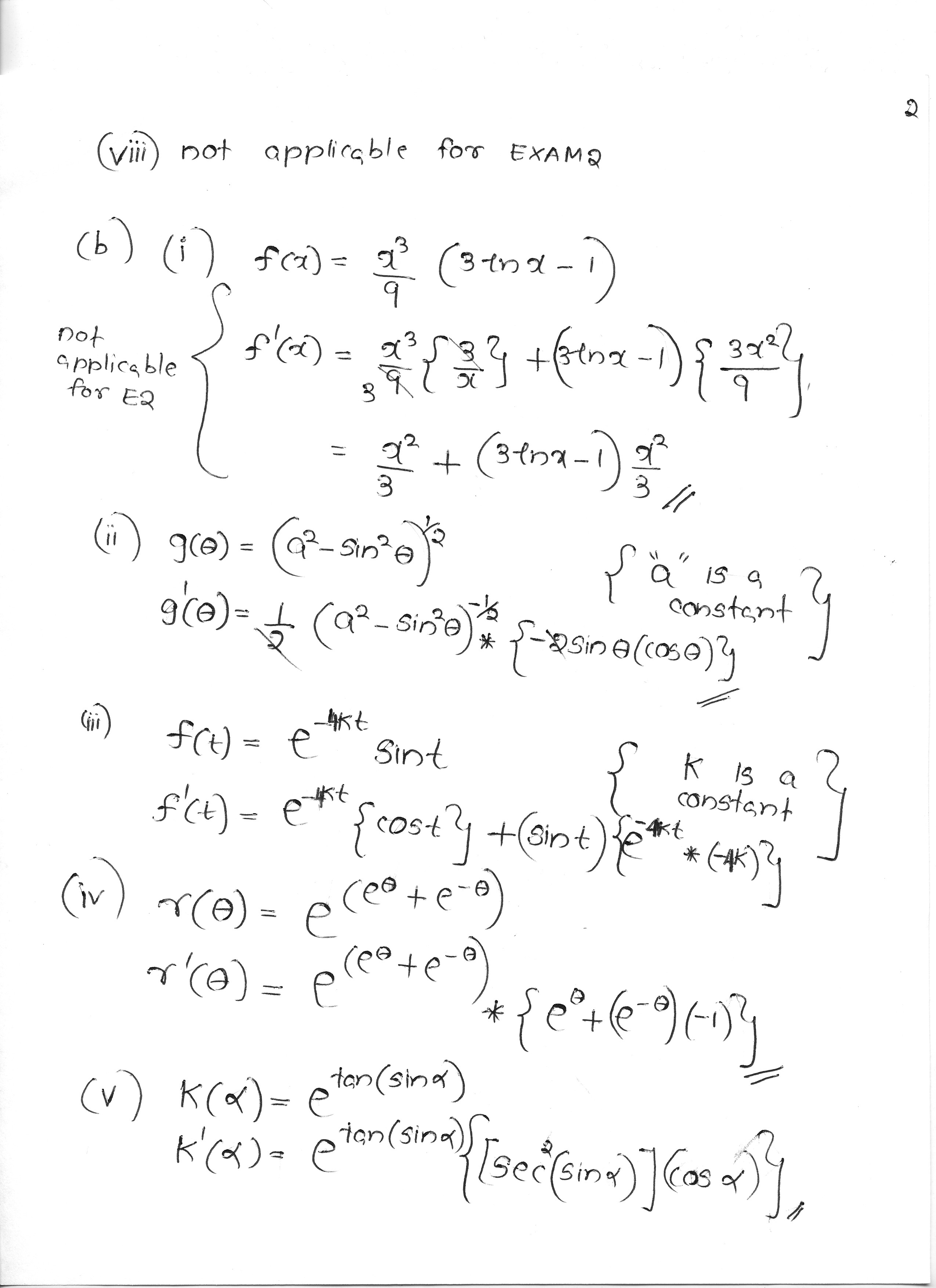 Math Worksheet Algebra