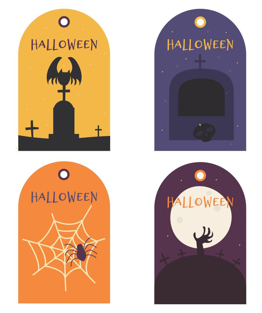9 Best Images Of Halloween Birthday Party Free Printables