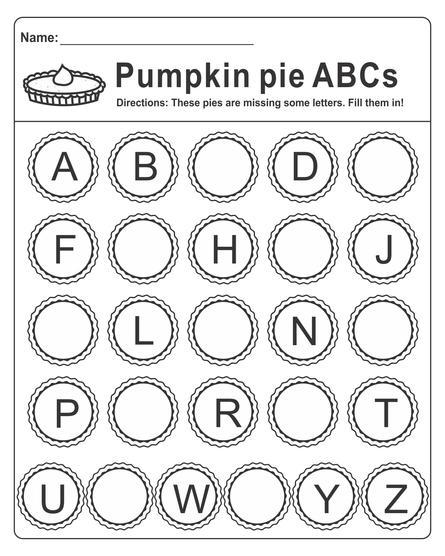 Alphabet Printable Images Gallery Category Page 7