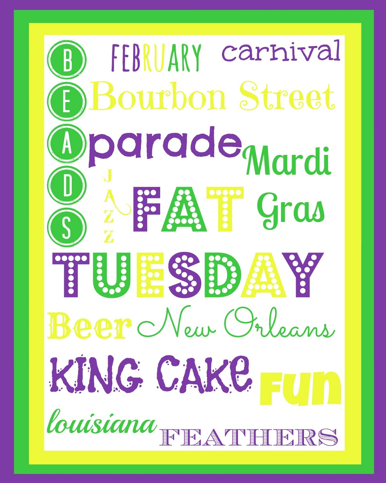 3 Best Images Of Mardi Gras Printable Worksheets