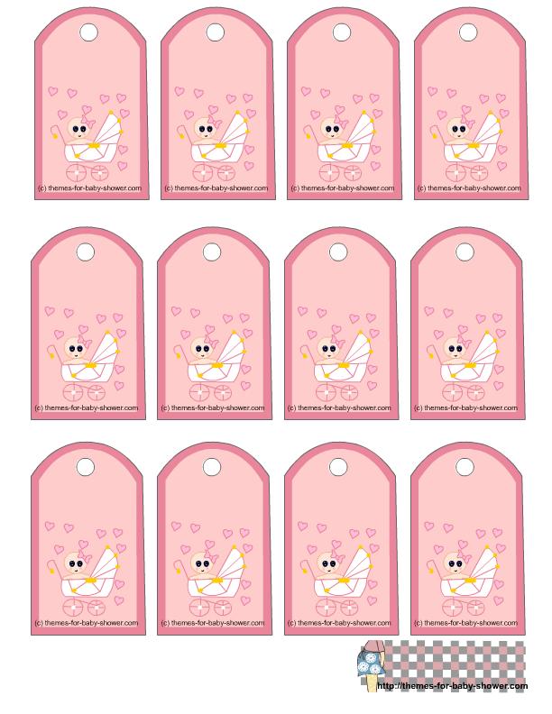 baby gift printable tags