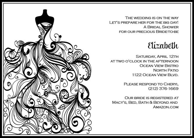 Printable Wedding Invitations Template Thebridgesummit Co