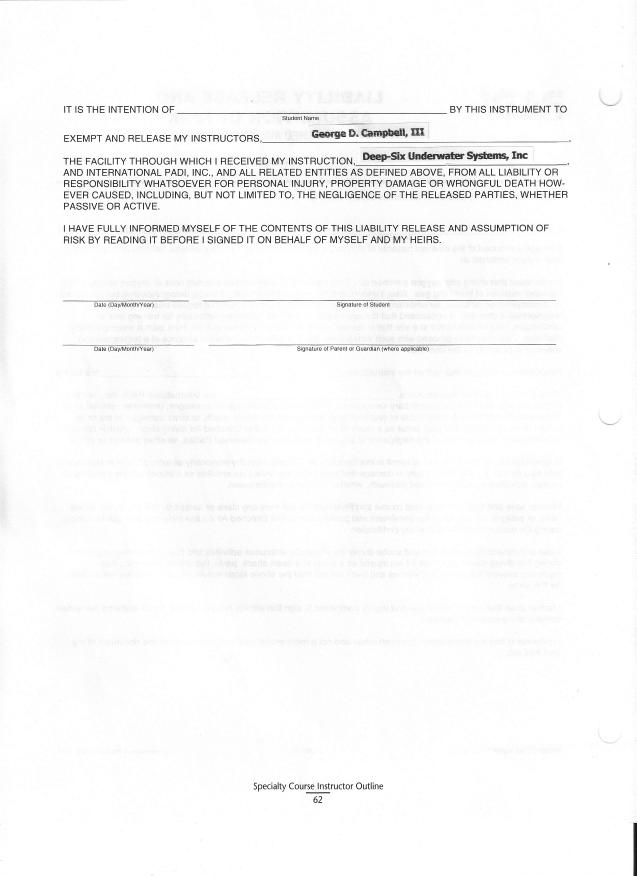 doc 575709 release of liability sample release of liability