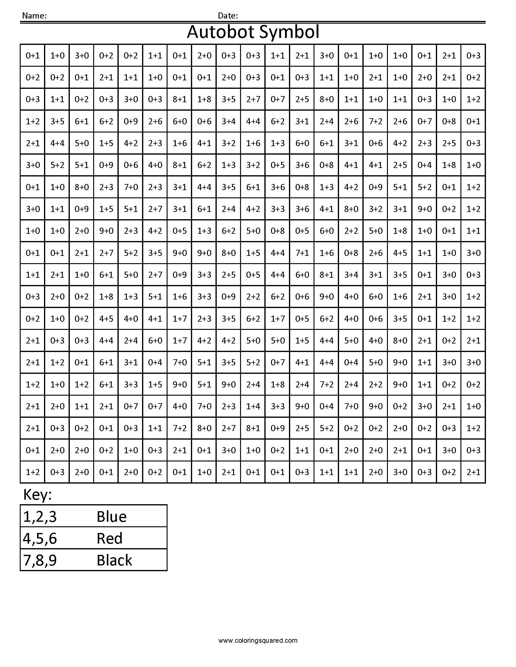 Multiplication Worksheets Mystery Picture
