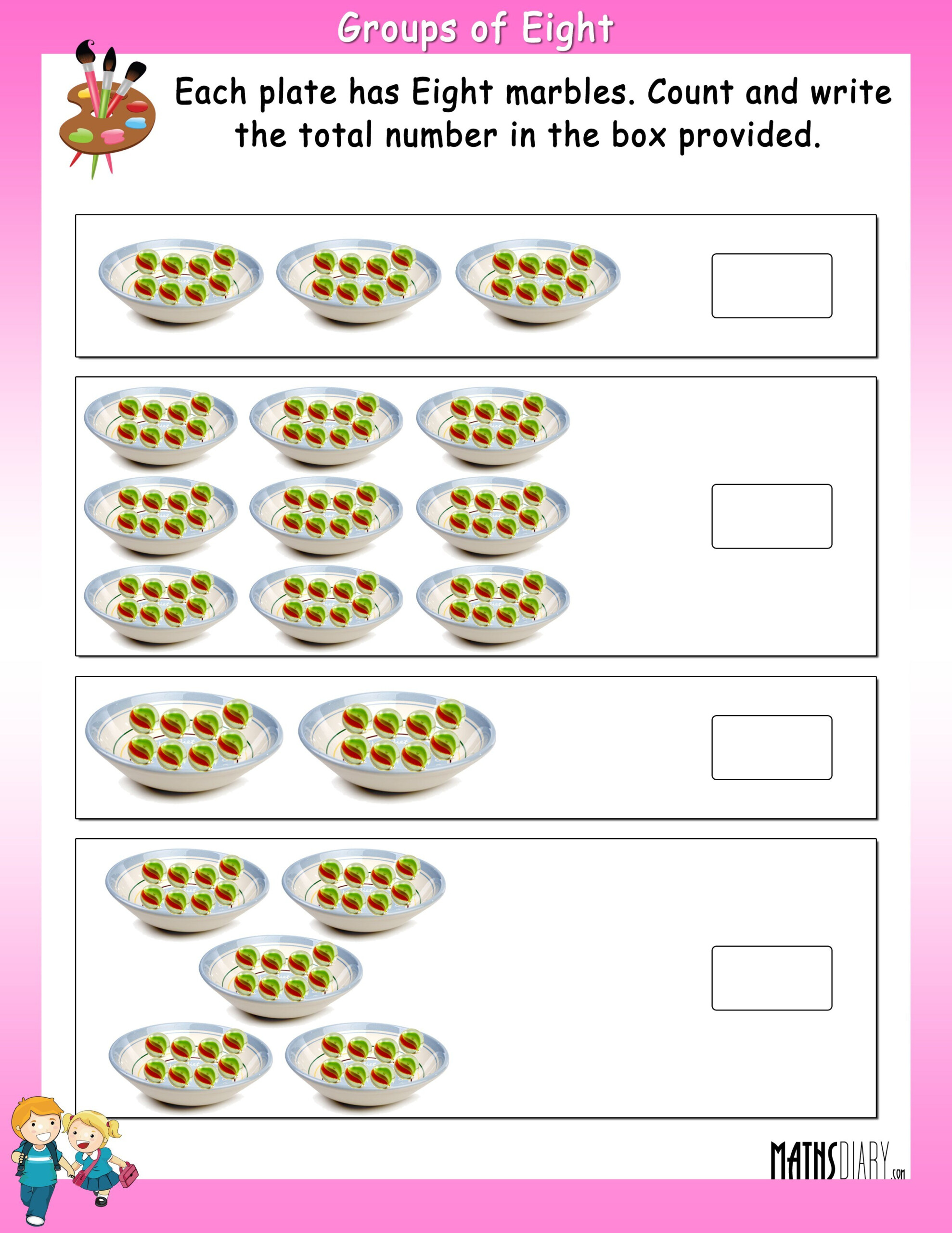 Worksheets Multiplication Grade 2