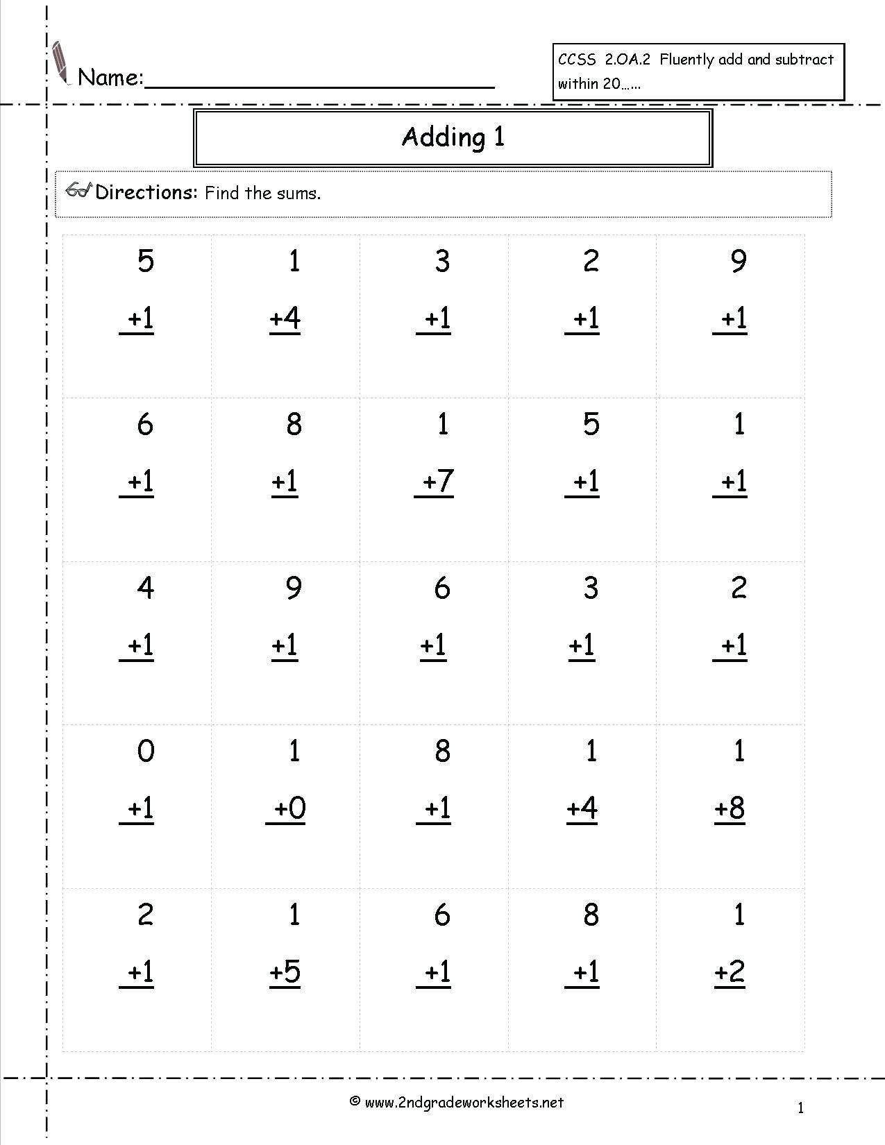 Multiplication Worksheets Level 1
