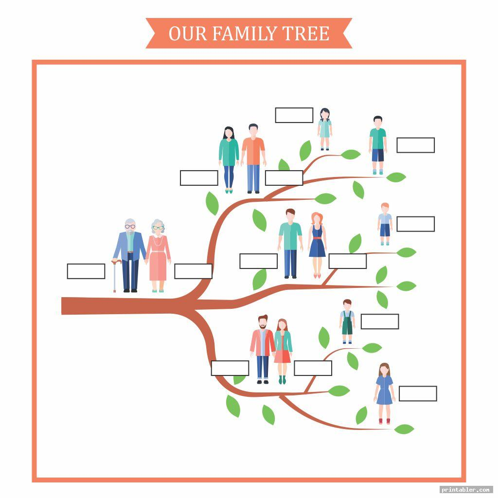 Printable Family Tree Worksheet