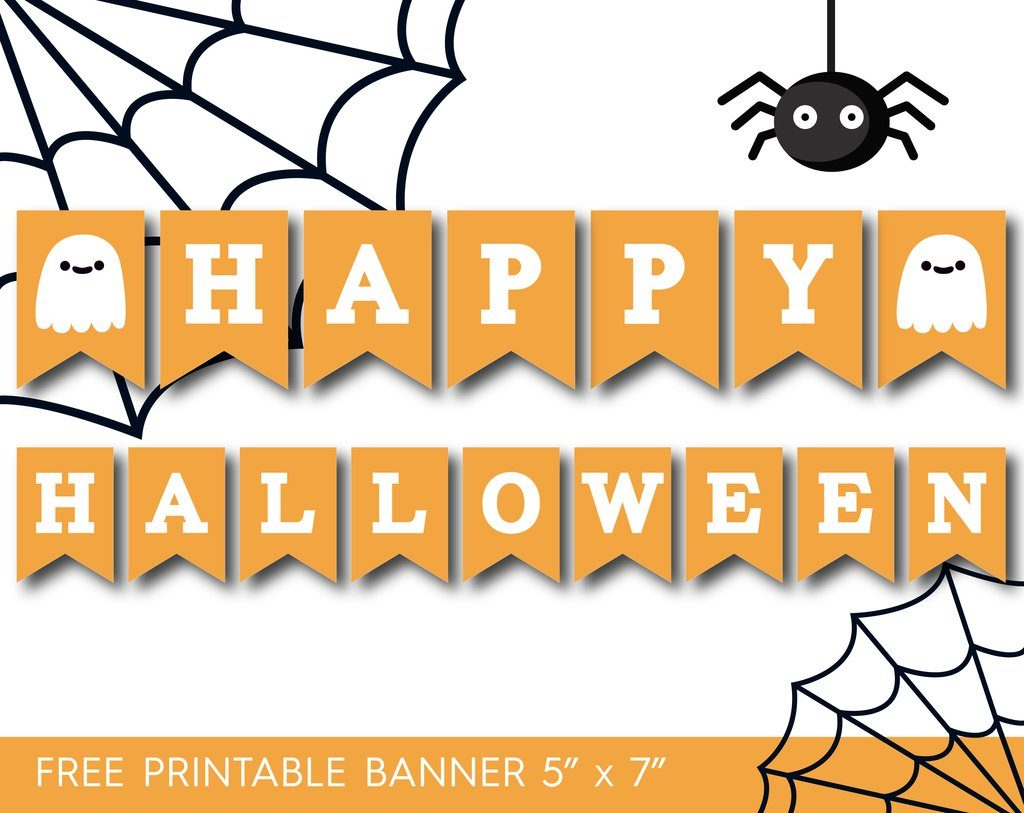 7 Printable Halloween Banners