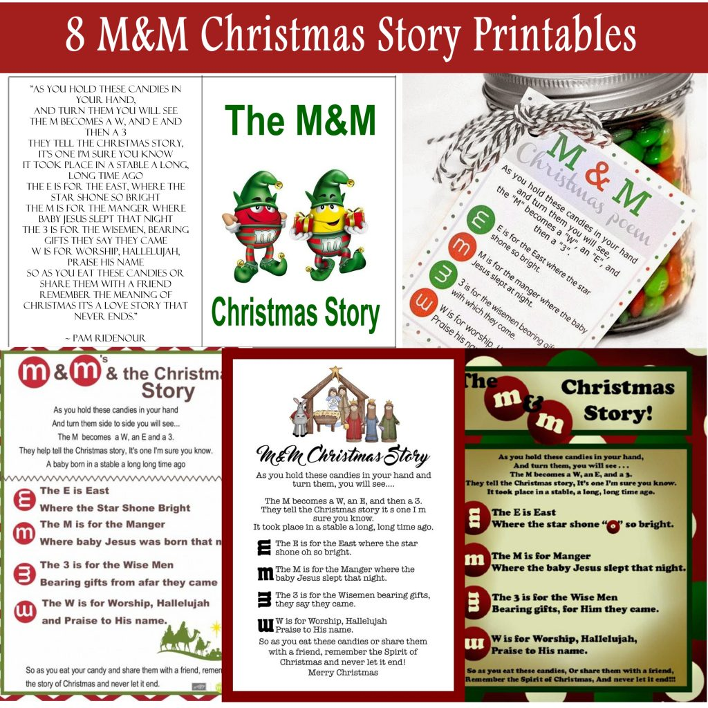 The M Amp M Christmas Story