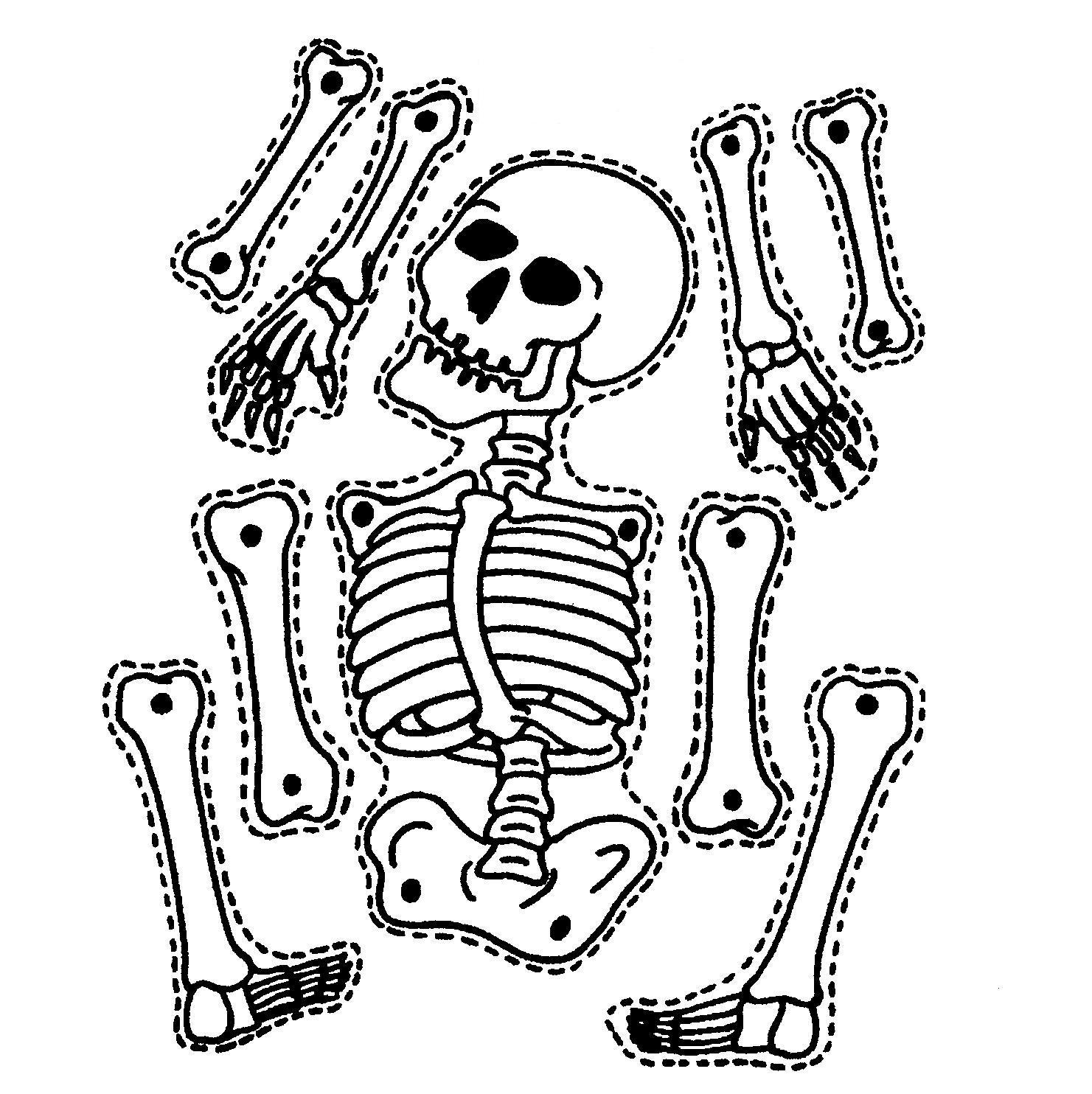 9 Printable Skeleton Crafts