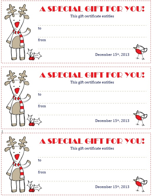 Here Is Preview Of Another Sample Holiday Discount Coupon Template Created  Using MS Word,  Coupon Template Word
