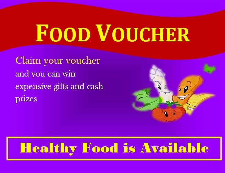 7 Free Sample Food Voucher Templates - Printable Samples