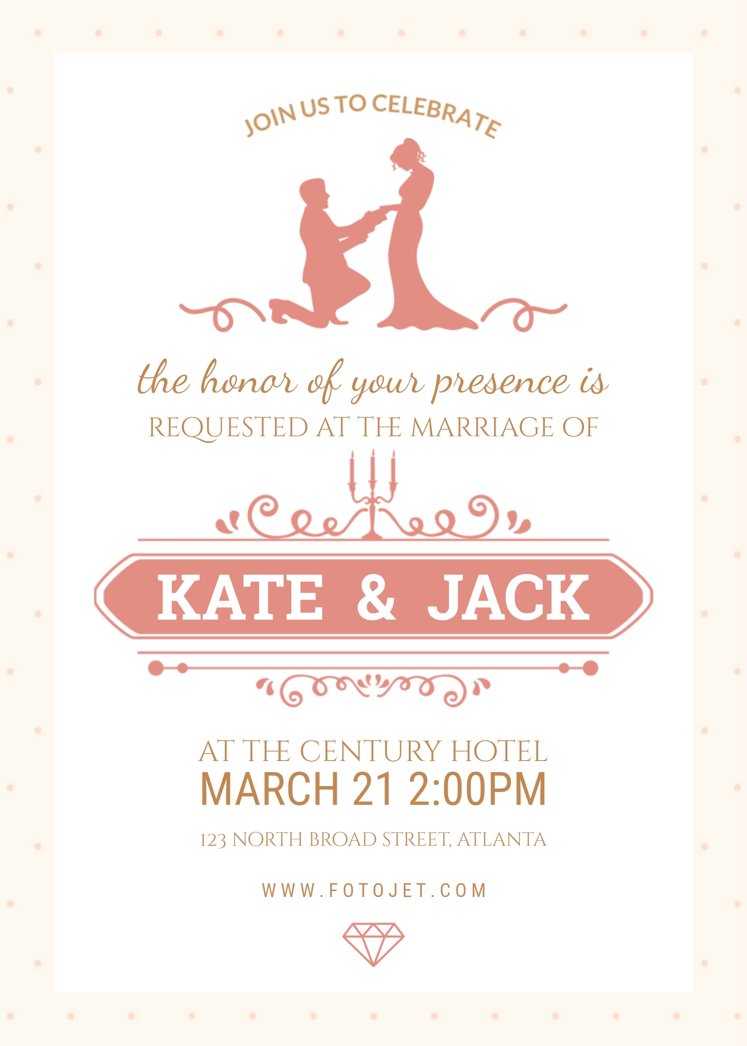 Here Is Preview Of Another Sample Engagement Ceremony Invitation Template  In PDF Format,  Ceremony Invitation Template