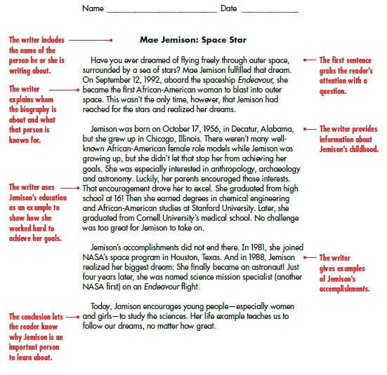 sample biography report templates printable samples here is preview of another sample biography report template in pdf format
