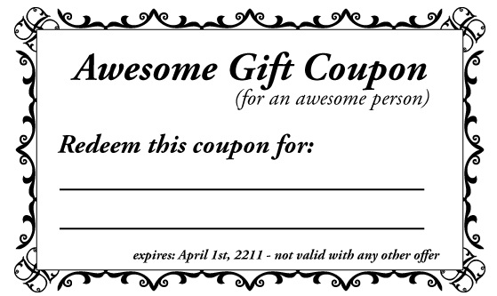 13 free sample kids discount coupon templates printable. Black Bedroom Furniture Sets. Home Design Ideas